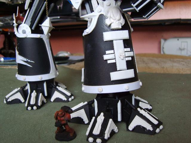 Grey Knight Build on Hippo Rear End